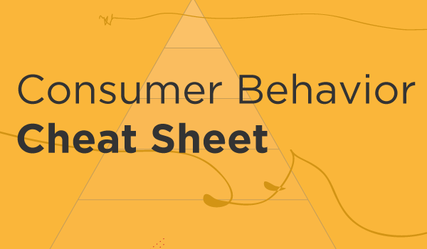 Consumer Behavior Cheat Sheet